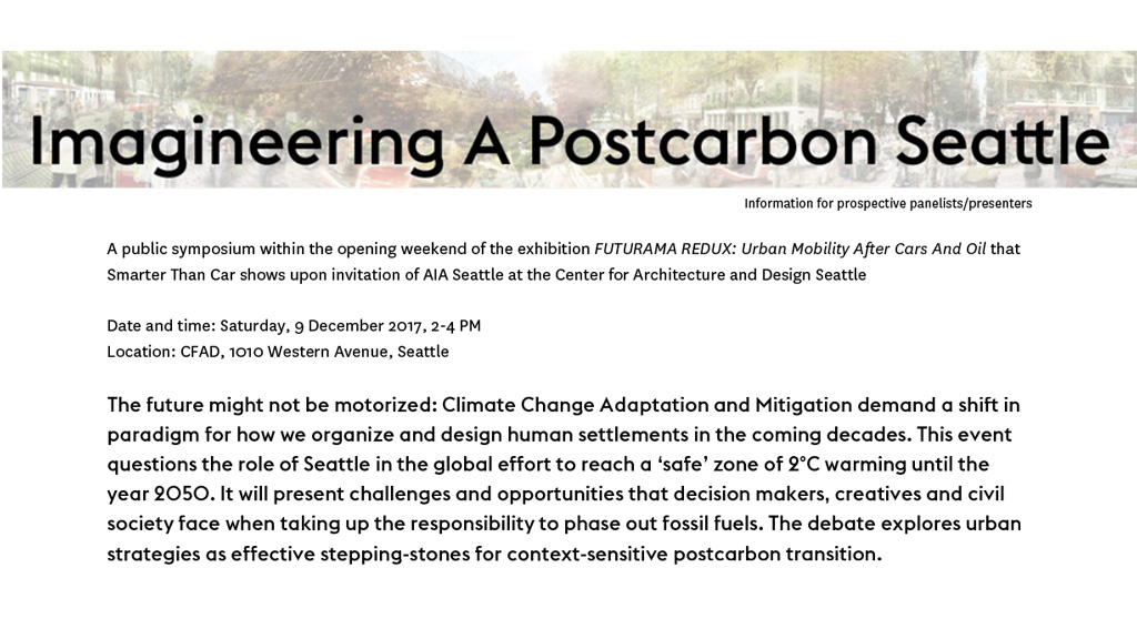 SmarterThanCar_2017_4_Imagineering-A-Postcarbon-Seattle_invitation-Speakers-image_final